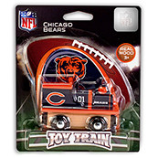 NFL Chicago Bears Wooden Train Engine