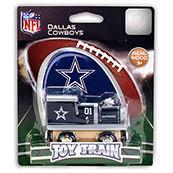 NFL Dallas Cowboys Wooden Train Engine