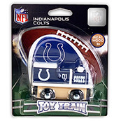 NFL Indianapolis Colts Wooden Train Engine