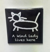 A kind lady lives here