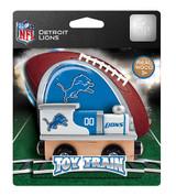 NFL Detroit Lions Wooden Train