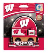 Wisconsin Team Wooden Train