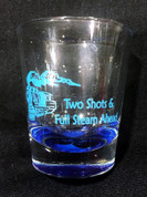 Two Shots and Full Steam Ahead- Blue