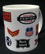 Train Logo Mug