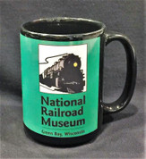 National Railroad Museum Mug- Green