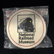 National Railroad Museum Stone Coaster