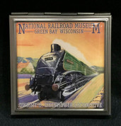 Eisenhower Locomotive Pocket Mirror