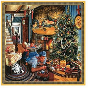 Father's Christmas Train 500-piece Puzzle by SunsOut