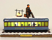 The Polar Express™ Tabletop Hobo Passenger Car