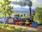 The Junction Express 500-Piece Puzzle by SunsOut