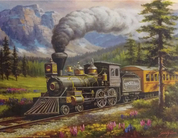 Rockland Express Puzzle by SunsOut