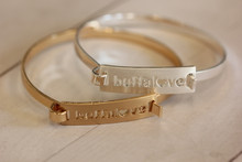Buffalove Bar Bracelet