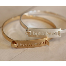 Buffalove Bar Bracelet (more colors)