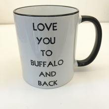 Buffalo and Back Mug