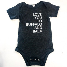 To Buffalo And Back Onesie