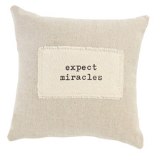 Miracles Positive Pillow