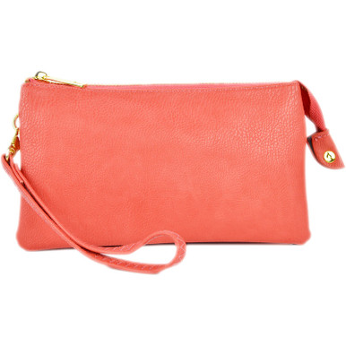 Perfect Core Clutch Coral Pink