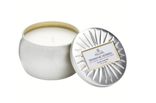 Petite Decorative Tin Candle, Branche Vermeil