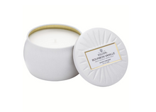 Petite Decorative Tin Candle, Bourbon Vanilla