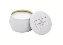 Petite Decorative Tin Candle, Bourbon Vanilla
