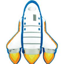 Space Shuttle Bubblegum Pillow