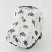 Buffalo Bison Car Seat Canopy
