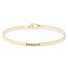 Namaste Bracelet Gold