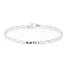Namaste Bracelet Silver