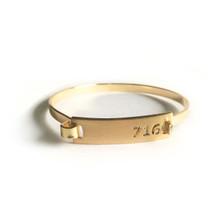 716 Bar Bracelet Gold
