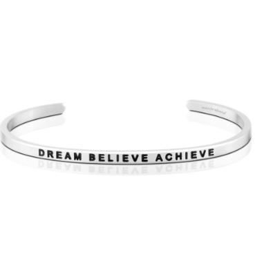 Dream Believe Achieve Mantraband Bracelet