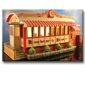 "Boulevard Diner  10"" x 5"" x 4"""