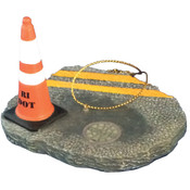 RI DOT Pot Hole ornament