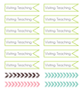 Cute LDS Planner - Visiting Teaching Banners