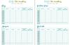 Faith & Works Planner: expenses sheet