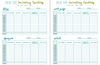 Faith & Works Planner: inventory tracking sheet