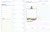 Weekly Spread.  Prioritize off of your monthly list and then plan which day you'll get it done