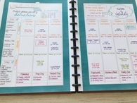 Academic Mormon Mom Planner - monthly calendar