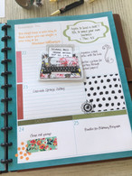 Academic Mormon Mom Planner: weekly planner sheet