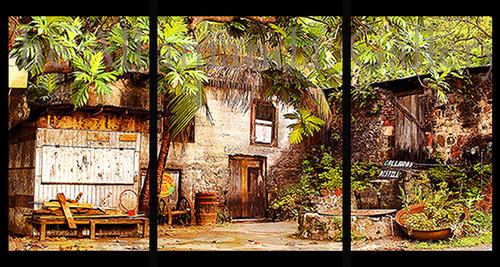 Callwood Rum Distillery Triptych