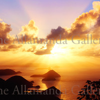 Sunset in Tortola