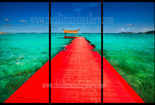 Red Door Triptych