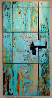Tortola Door Triptych pictured as a slim wrap