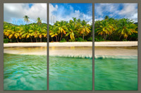 Brewers Bay Summer Triptych (canvas)