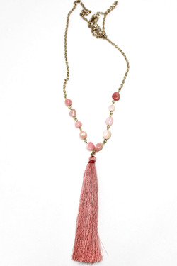 Paige Tassel Necklace