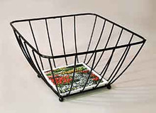 Medium Sized Black Wire Basket