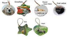 Holiday Ornaments: Porcelain Holiday Ornaments
