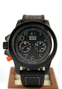 ESQ Fusion Gentlemen's Black Ion Plated watch