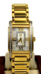 ESQ Kingston Ladies Gold Plated SS watch