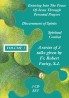 Fr Bob Faricy SJ - VOLUME 1 - 3 TALKS - 3 CD BOX SET- .