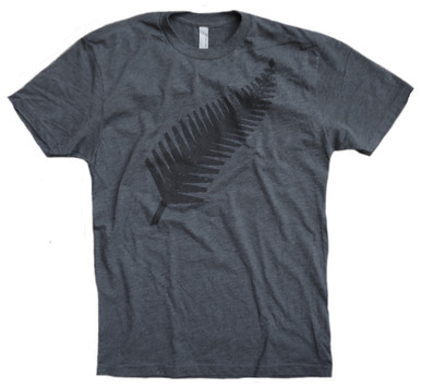 Vintage New Zealand All Blacks Rugby Shirt | Grey & Black